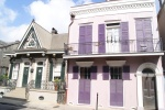 Case nel French Quarter di New Orleans